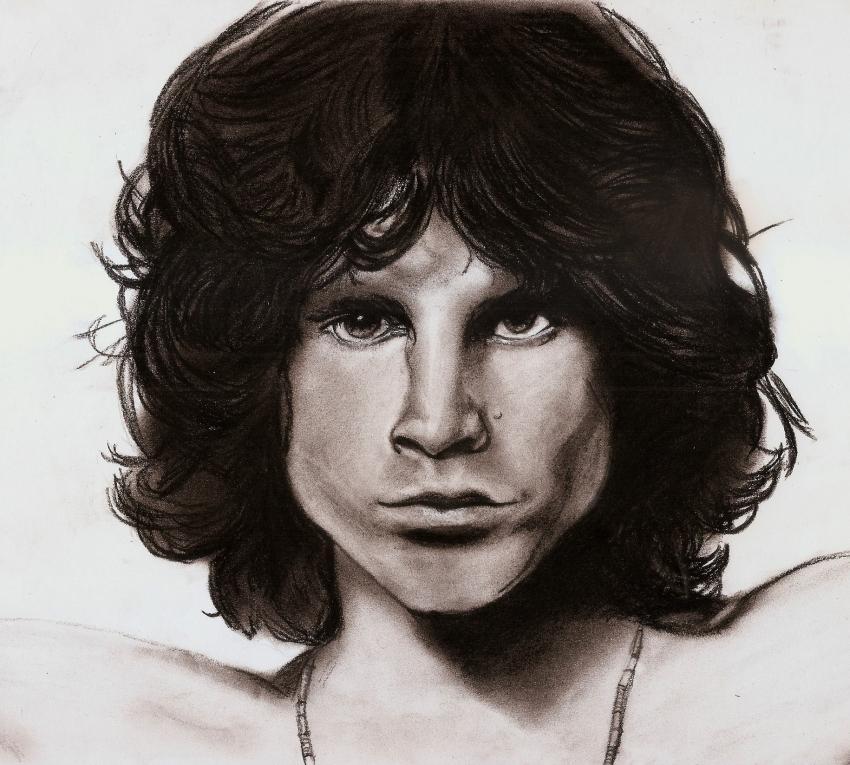 Jim Morrison by Shadowy